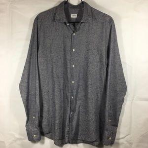 GlanShirt - Italian made by Slowear Blue Shirt